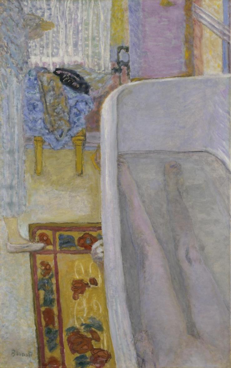 Nude in the Bath 1925 by Pierre Bonnard 1867-1947